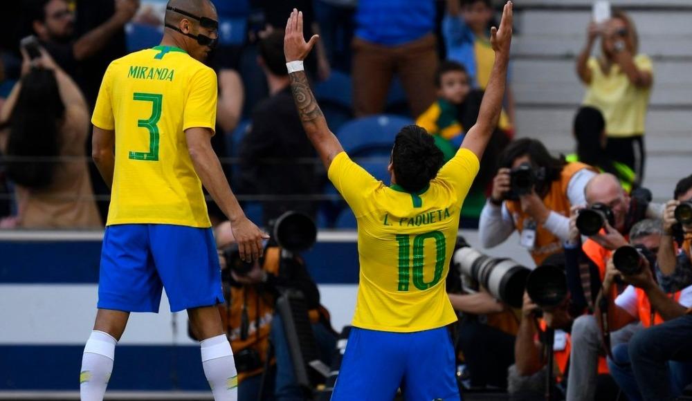 Brezilya, Panama ile berabere kaldı