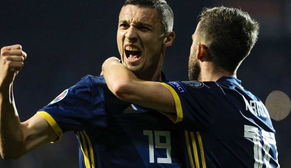 Bosna Hersek, Ermenistan'ı 2-1 mağlup etti