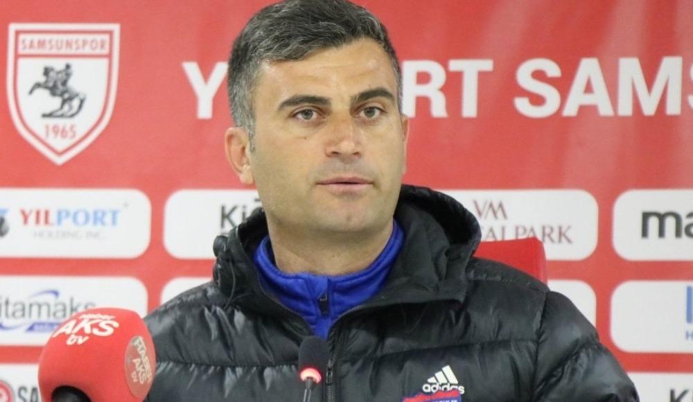 """Altan Çetindağ: """"Samsunspor'u galibiyetlerinden ötürü kutlarım"""""""