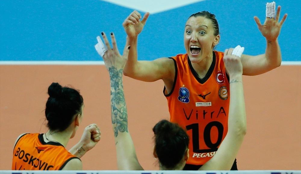 Eczacıbaşı VitrA, AXA Sigorta Kadınlar Kupası'nda şampiyon oldu!