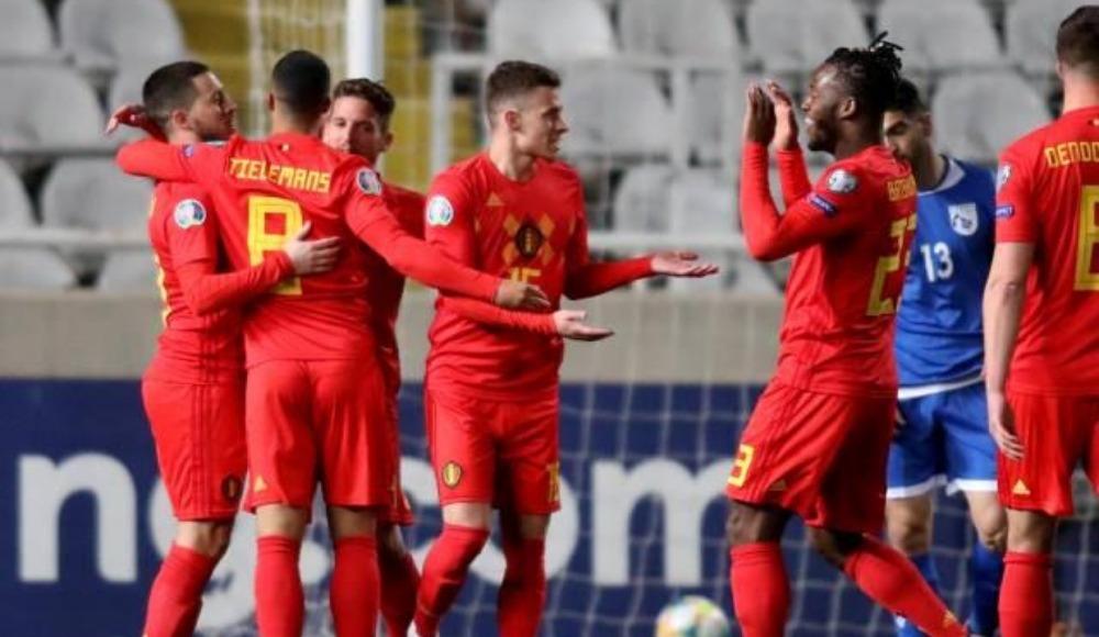 Belçika deplasmanda rahat kazandı!