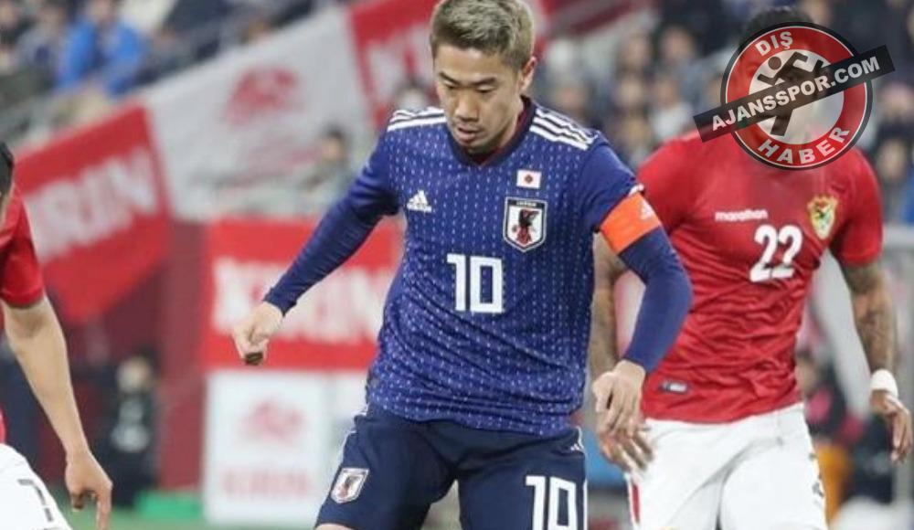 Kagawa'nın kaptan çıktığı maçta Japonya kazanmasını bildi
