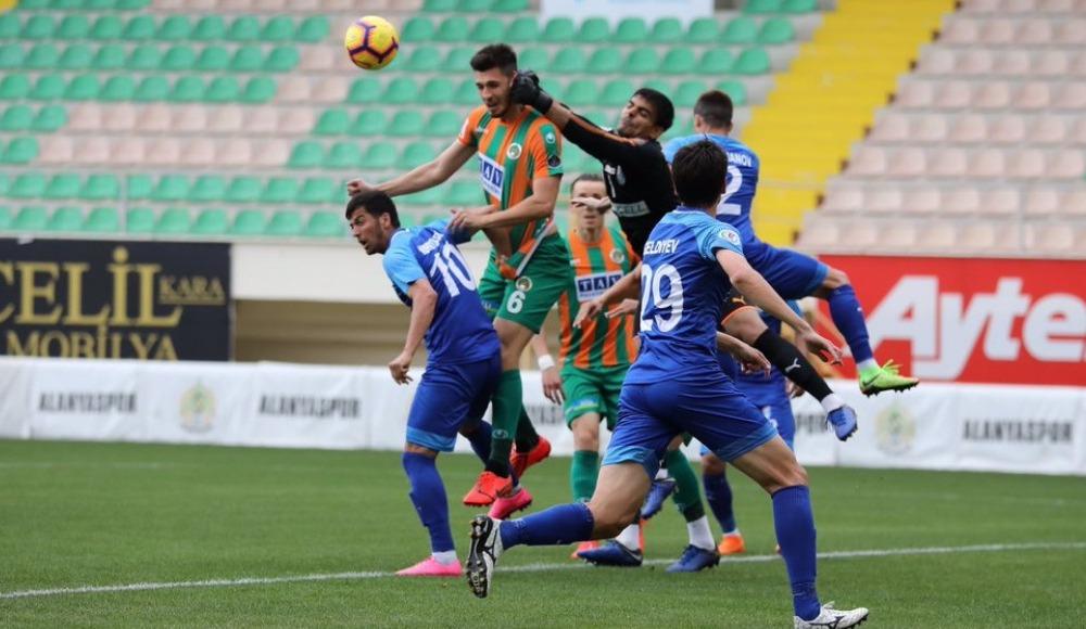 Aytemiz Alanyaspor, Altyn Asyr'ı 2-1 mağlup etti