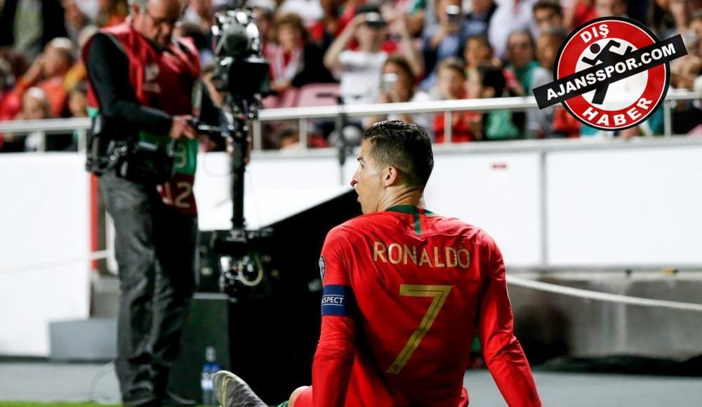 Cristiano Ronaldo tedavisi için Barcelona'da