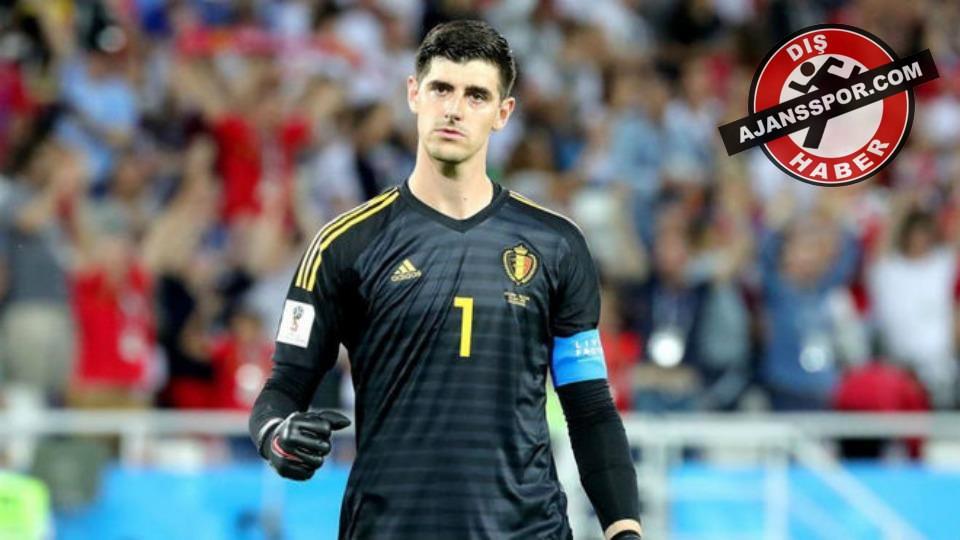 Thibaut Courtois, Eden Hazard'ı Real Madrid'de görmek istiyor...