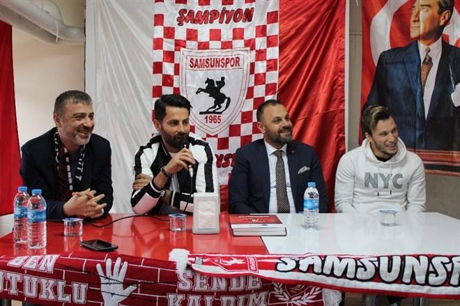 Samsunsporlu futbolcular, 10 okulda 5 bin öğrenciyle buluştu