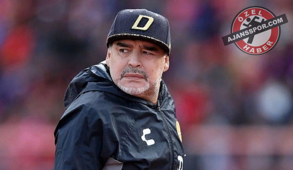 Maradona, Galatasaray'a geliyordu