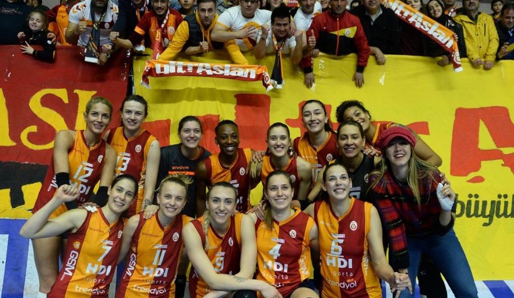 Galatasaray HDI Sigorta, Sultanlar Ligi play-off yarı finaline yükseldi