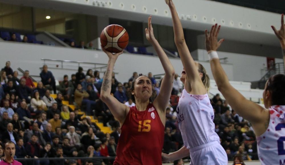 Mersin Büyükşehir Belediyespor, sahasında Galatasaray'ı 82-70 yendi