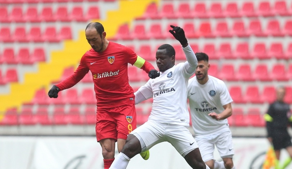 Hazırlık maçında Adana Demirspor, Kayserispor'u yendi