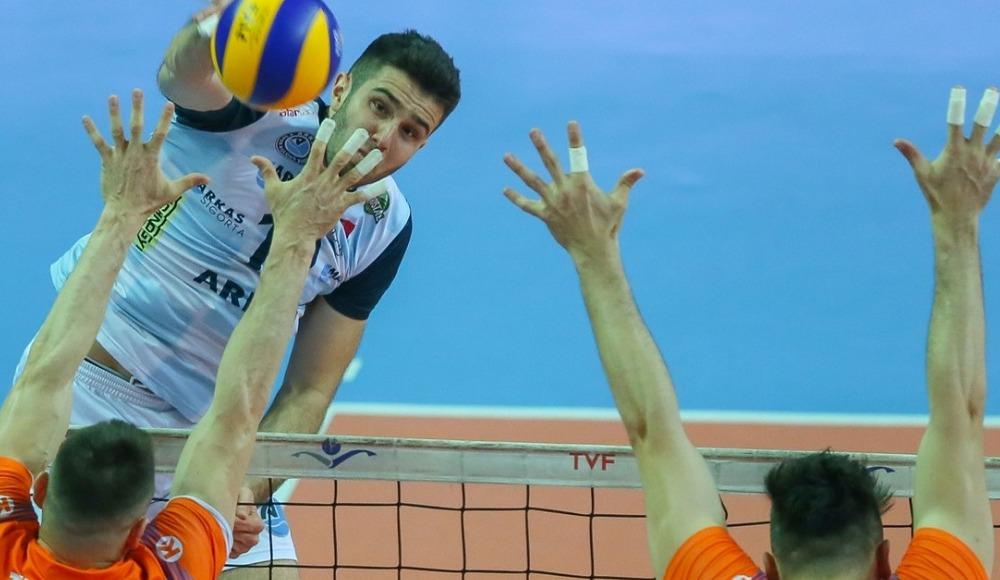 Arkas Spor, Tokat Belediye Plevne'yi 3-0 yendi