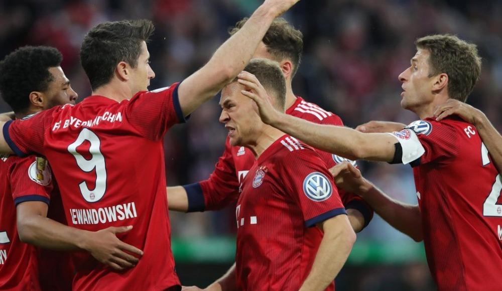 Bayern Münih, Almanya Kupası'nda yarı finale yükseldi! 5-4