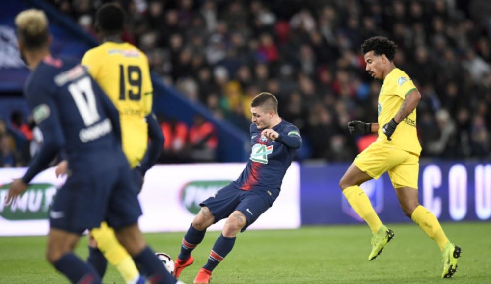 Nantes'ı deviren PSG finale kaldı!
