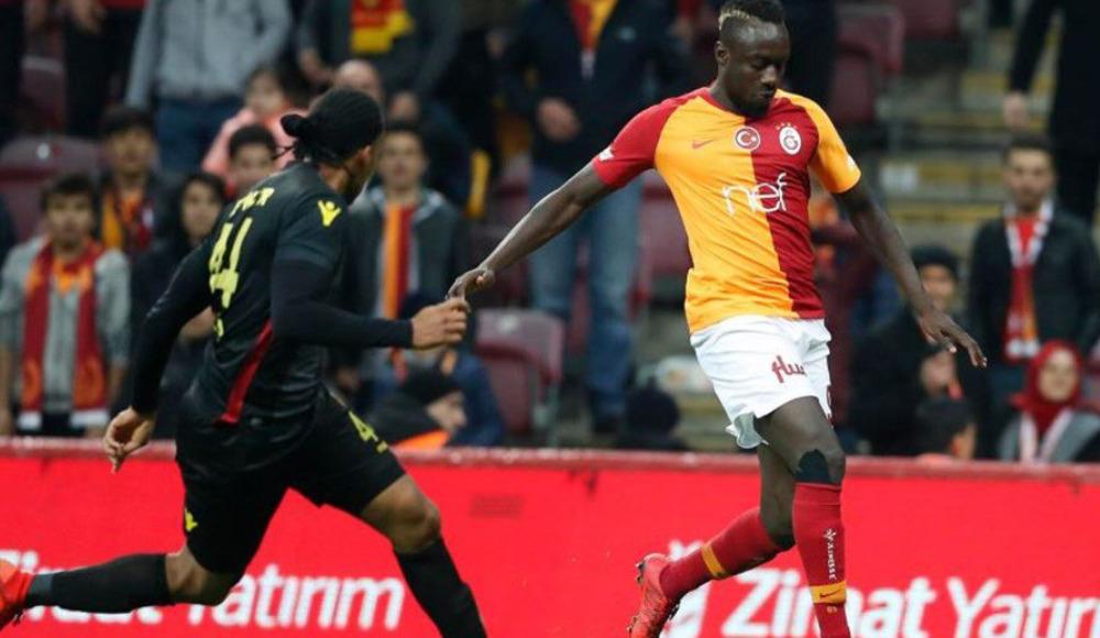 İşte Galatasaray'ın Evkur Yeni Malatyaspor maçı ilk yarı istatistikleri