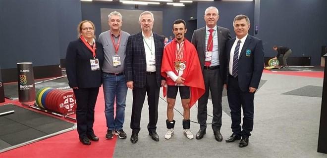 Avrupa Şampiyonasından 1 Gümüş, 2 Bronz madalya