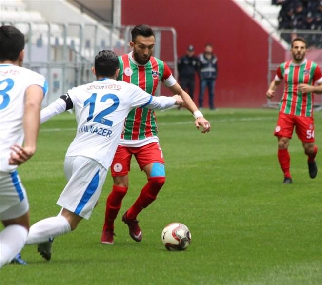 Diyarbekirspor, Karacabey Belediyespor'u sahasında 2-1'lik sonuçla mağlup etti