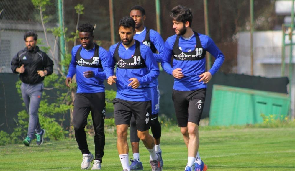Hatayspor, Afyonspor maçı hazırlıklarına başladı
