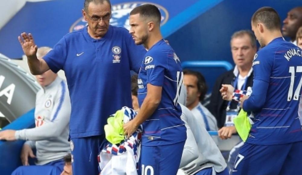 """Maurizio Sarri'den Eden Hazard açıklaması: """"100 milyon dolar mı?"""""""