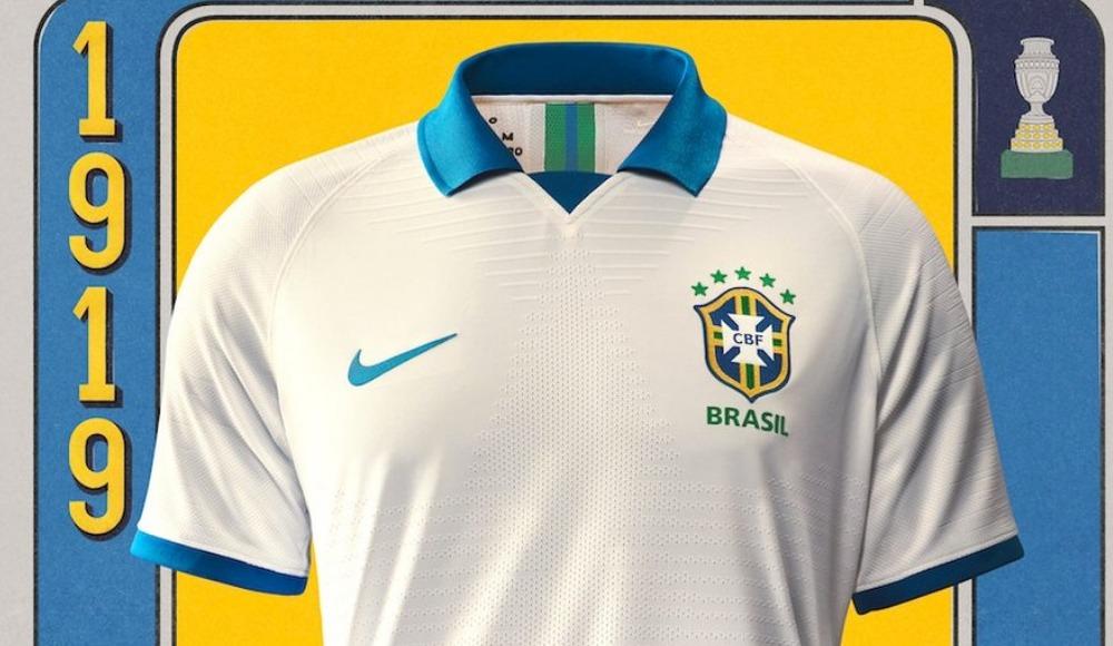 Brezilya'nın Copa America'da giyeceği formalar belli oldu