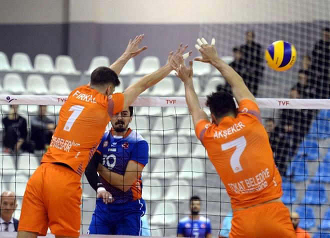 Tokat Belediye Plevne, sahasında İstanbul Büyükşehir Belediyespor'u 3-0 yendi