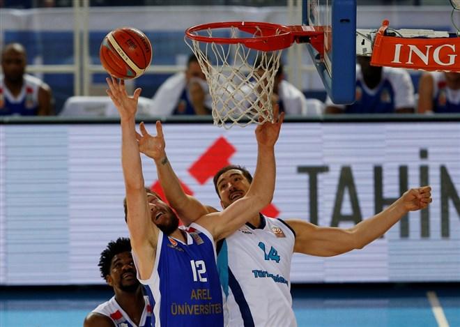 Türk Telekom, Arel Üniversitesi Büyükçekmece Basketbol'u 105-86 mağlup etti