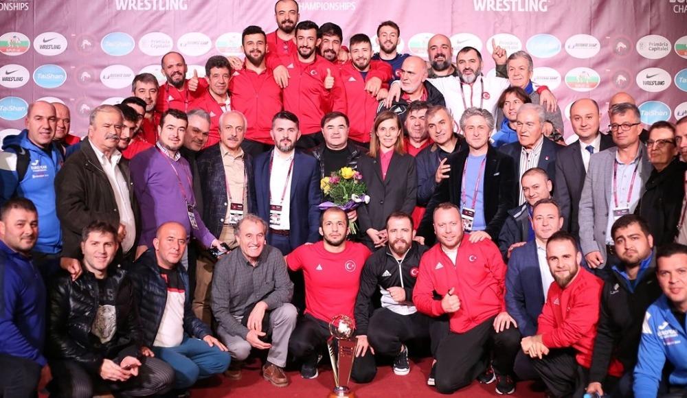 Serbest Güreş Milli Takımı, Avrupa ikincisi