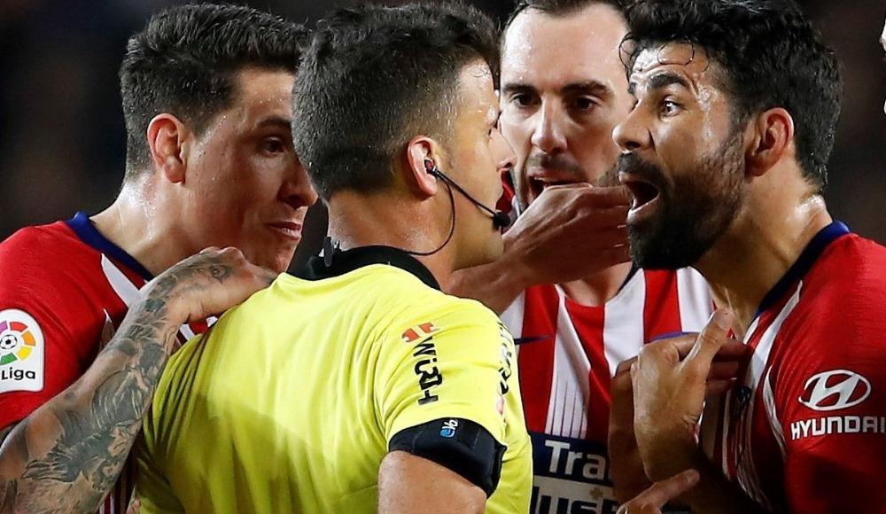 Diego Costa'ya ağır ceza! Resmen açıklandı...