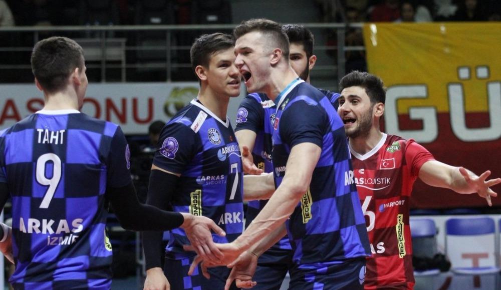 Arkas Spor, Galatasaray'a set vermedi