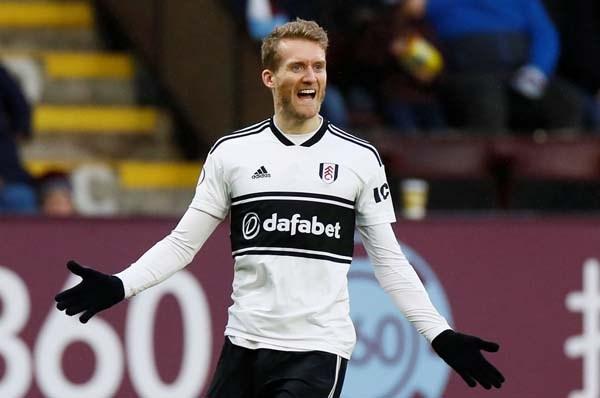 Schürrle Fulham'da bu sezon kaç gol attı?