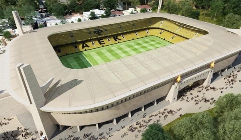 AEK'nın yeni stadı 'Ayasofya' açılışa hazır!