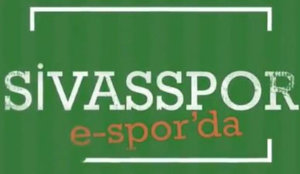 Sivasspor E-Spor'da