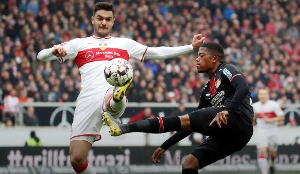 Özet - Bayer Leverkusen, Ozanlı Stuttgart'ı sıkıntıya soktu