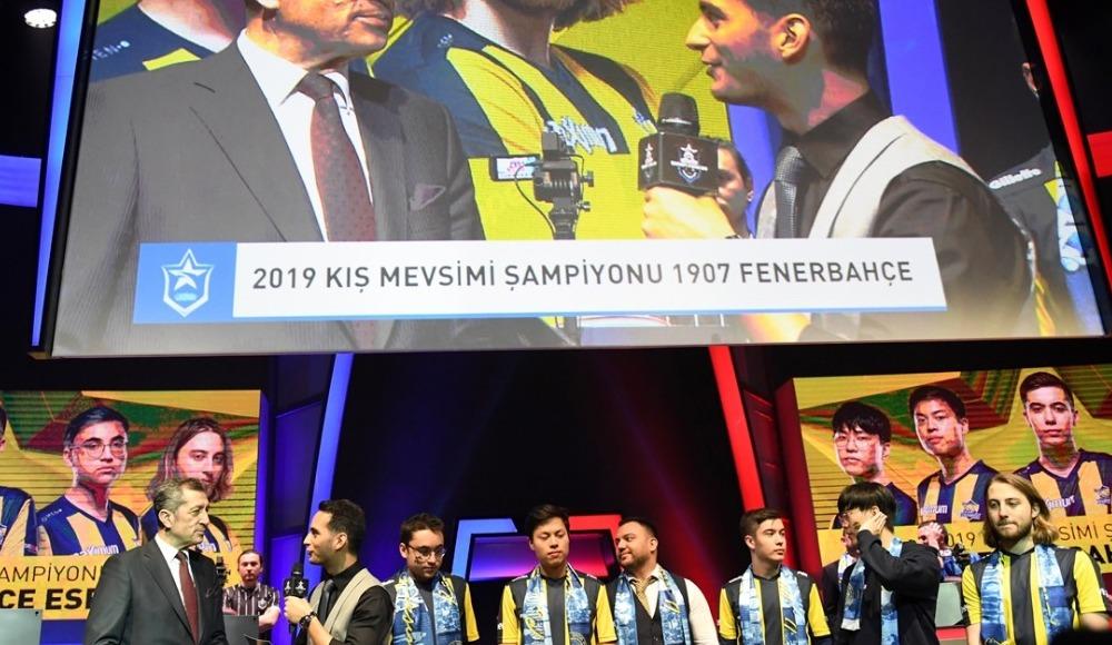 1907 Fenerbahçe Espor şampiyon oldu