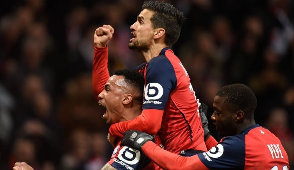 Lille, lider Paris Saint-Germain karşısında tarih yazdı! 5-1