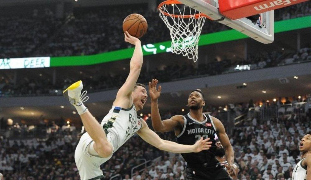 Ersanlı Bucks, Pistons'ı farklı geçti