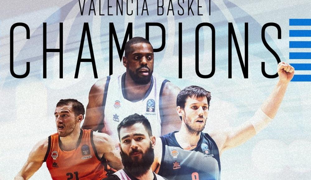ULEB Avrupa Kupası'nda şampiyon Valencia