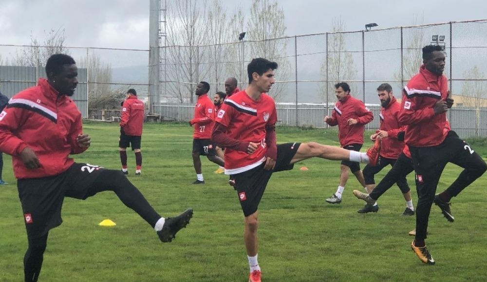 Elazığspor, Osmanlıspor maçı hazırlıklarını sürdürdü
