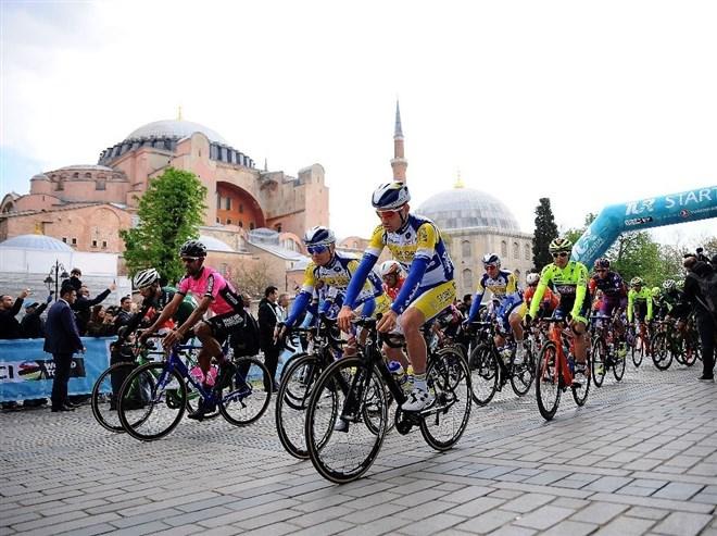 55. Cumhurbaşkanlığı bisiklet turu Balıkesir'e ulaşıyor