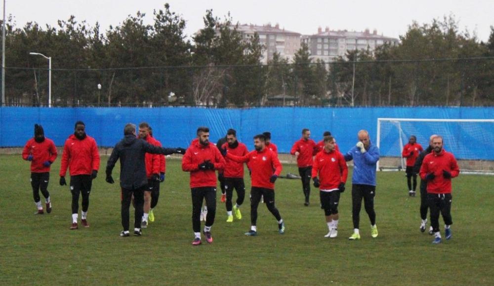 Erzurumspor, Göztepe maçı hazırlıklarını sürdürdü
