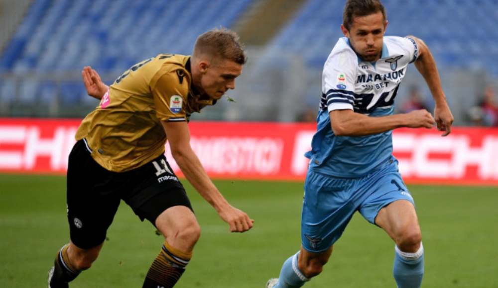 Lazio, Udinese'yi rahat geçti