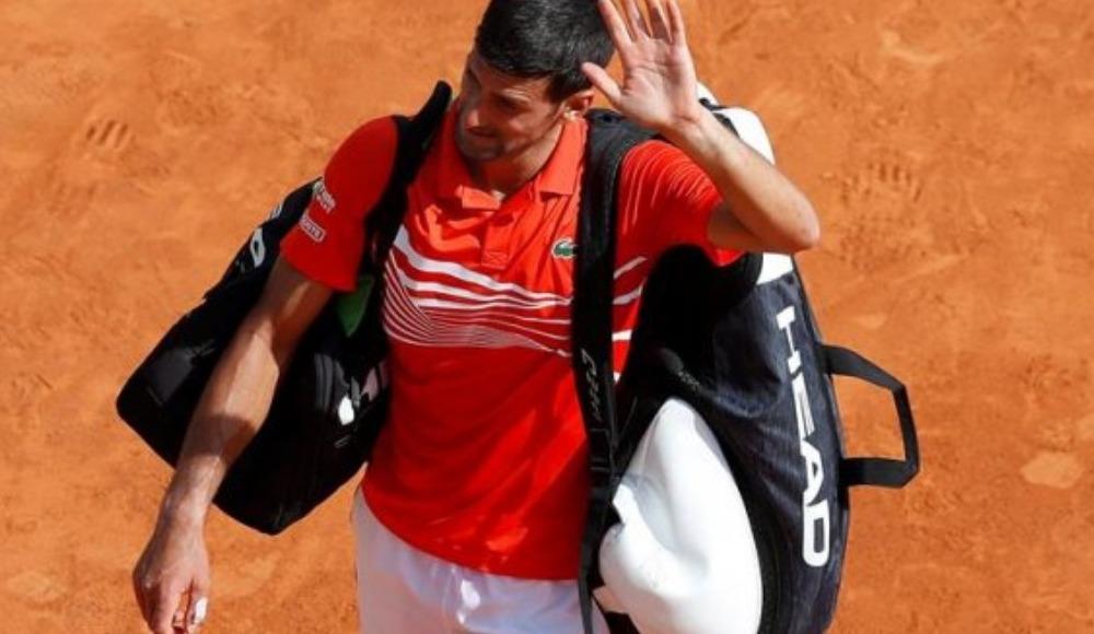 Djokovic'ten Monte Carlo'ya erken veda