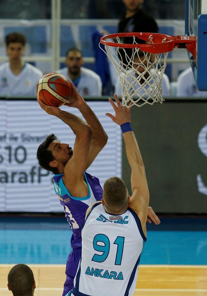 Türk Telekom, sahasında Afyon Belediyespor'u 92-77 mağlup etti