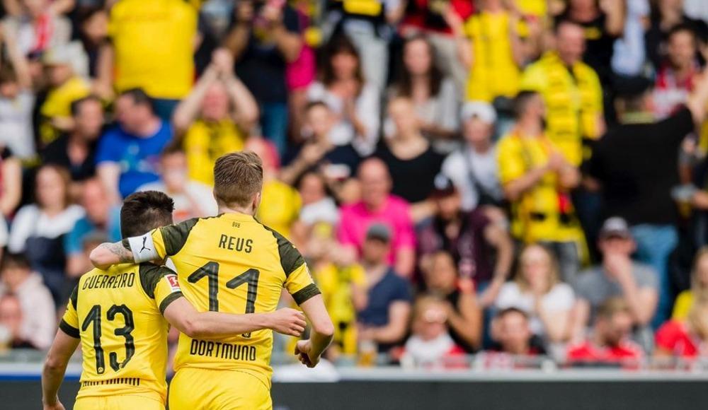 Özet - Dortmund farklı kazandı Bayern'i takibi sürdürdü