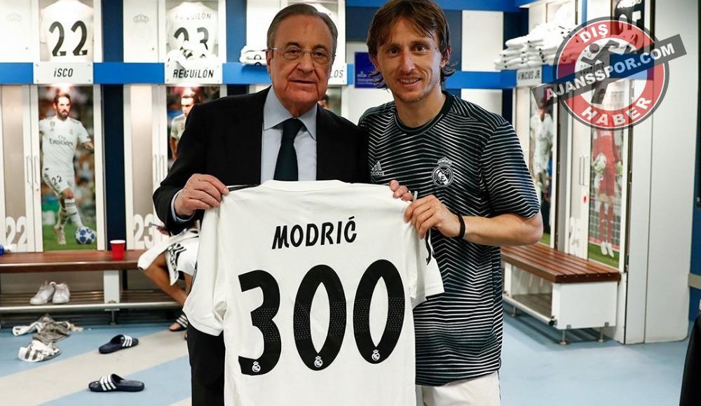 Luka Modric 300. maçına çıktı