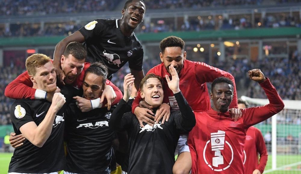 RB Leipzig, Almanya Kupası'nda finale yükseldi