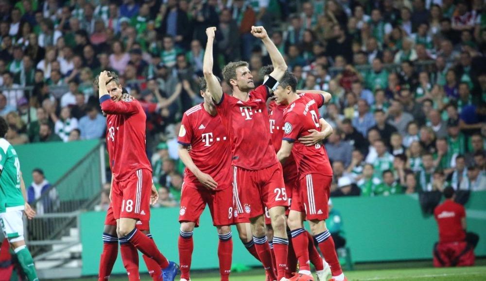 Bayern Münih Almanya Kupası'nda finalde!