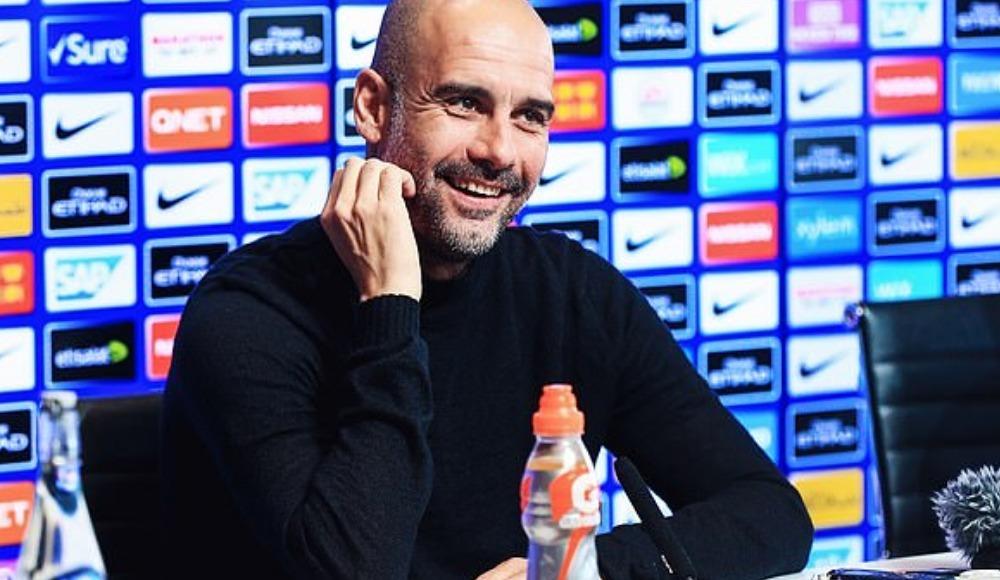 """Guardiola: """"Sakın şut çekme diye bağırdım"""""""