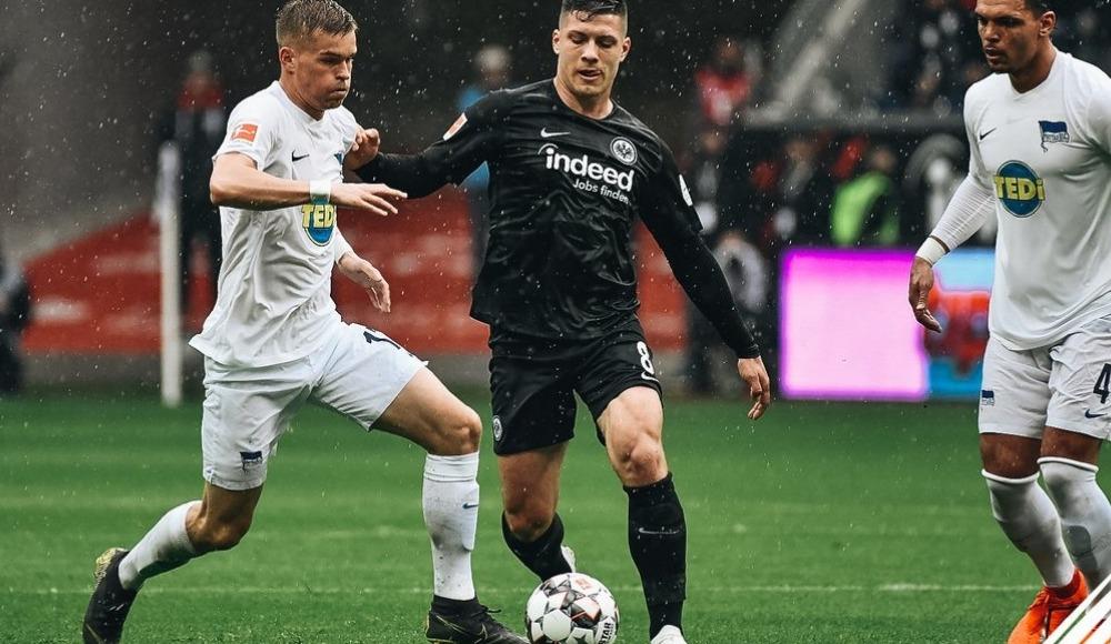 Özet - Eintracht Frankfurt, sahasında Hertha Berlin ile berabere kaldı