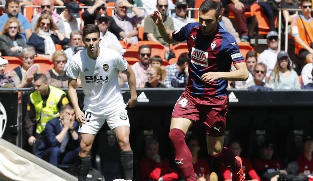 Eibar uzatmada vurdu! Valencia'ya büyük şok...