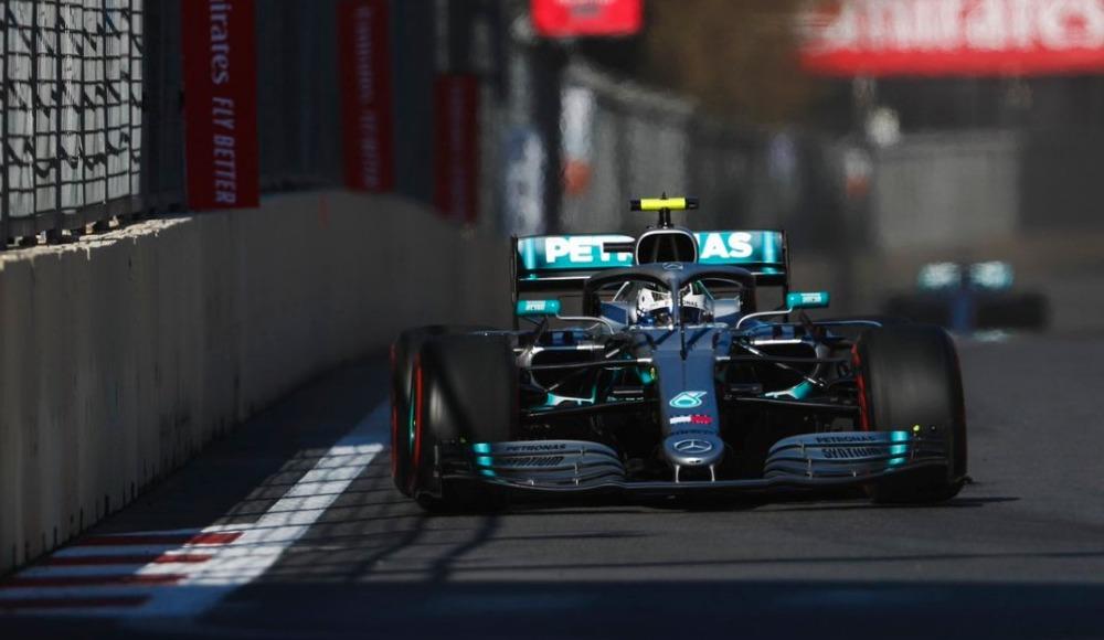 Formula 1 Azerbaycan Grand Prix'ini Bottas kazandı